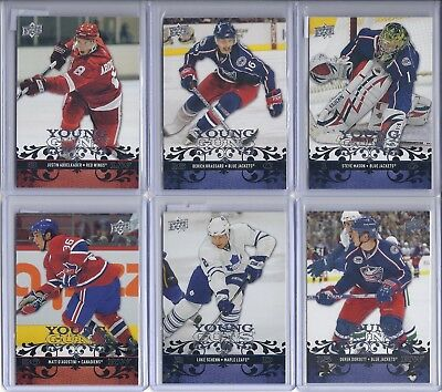 2008-09 UD Young Guns Rookies - You Pick - FREE COMBINED SHIPPING - Upper Deck