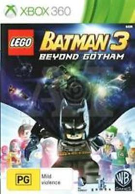 LEGO Batman 3: Beyond Gotham - Xbox 360 FREE POST VERY GOOD INC MANUAL!