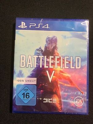 Battlefield 5 V PS4 NEU & OVP UNCUT dt. Version
