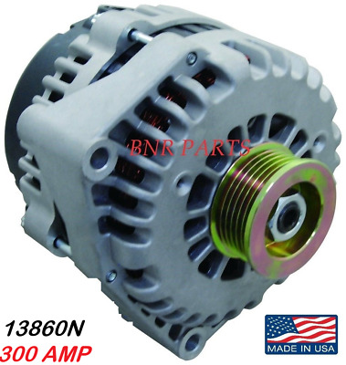 300 AMP 13860N Alternator Chevy GMC New HIGH OUTPUT Suburban Yukon XL PERFORMANC