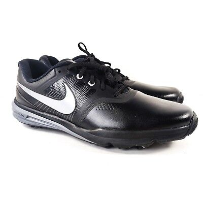cf86cd932a7f Nike Lunar Command Men s Size 10.5 Golf Shoe Cleat Spikes Black 704427 001