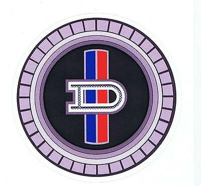 Datsun Circle Badge style Retro Sticker