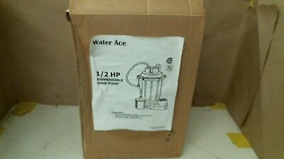 Water Ace R5S-1 1/2 Hp Submersible Sump Pump