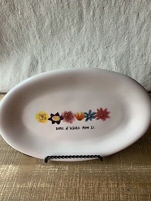 Rae Dunn Artisan Collection Mother's Day Oval