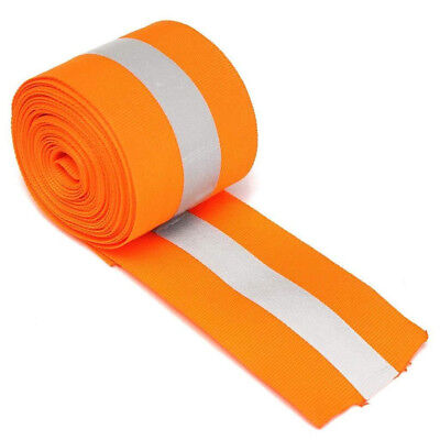Tape Luggage Ribbon Florescent Reflective Warning Clothes Sewing Safety Strip