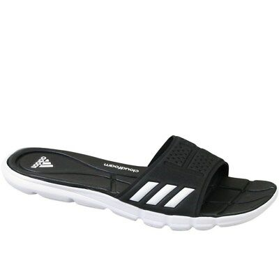 9682384509195 ADIDAS ADIPURE CF W Black Synthetic Adult Flip Flops Size 7 -  25.00 ...