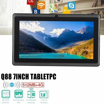 Q88 7 Inch Android 4.4 Quad Core 512MB 4GB WiFi G-Sensor GSM Camera Tablet PC