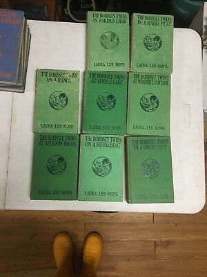 Eight different titles  Bobbsey Twins LAURA LEE HOPE