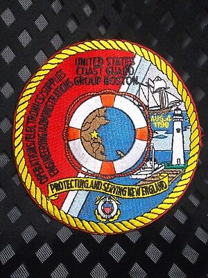 726 United States Coast Guard Group Boston Protecting New England Patch