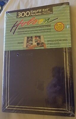 Holson 3ring Easy Pockets Brown Photo Album 300 4x6 Or 3x5 Photos
