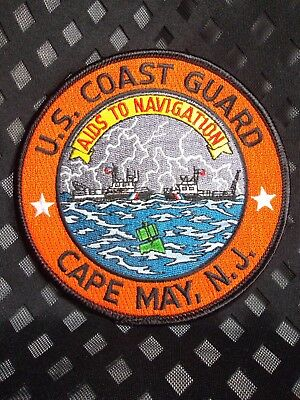 726 United States Coast Guard Cape May Aids To Navigation Patch - USCG NJ