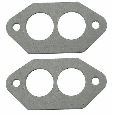 DUAL PORT INTAKE MANIFOLD GASKETS FOR DUAL 40mm PAIR VW BUG BUS BUGGY EMPI 3250