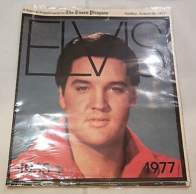 The Times-Picayune Newspaper Special Supplement Elvis Presley Death August 1977