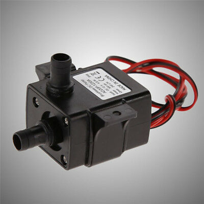 Ultra-quiet Mini DC12V 3M 240L/H Brushless Motor Submersible Water Pump