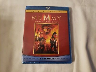 The Mummy: Tomb of the Dragon Emperor (Bluray, 2008) *NEW* [BUY 2 GET 1 FREE]
