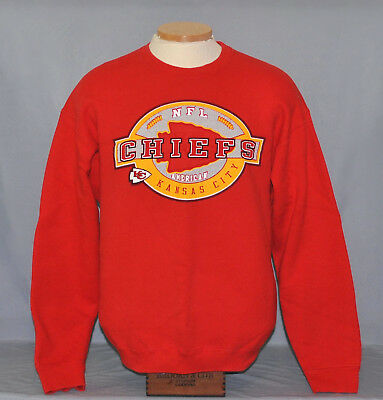 low priced f6763 fd467 PRO PLAYER KANSAS City Chiefs Sweatshirt Men's Size Large Pullover Football  NFL