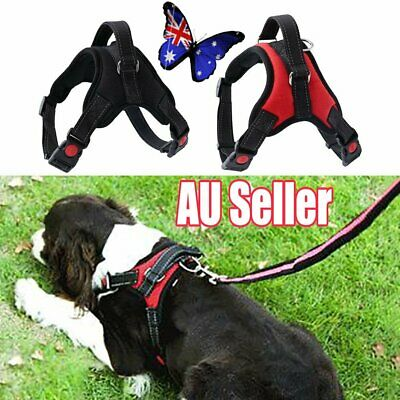 Pet Puppy Large Dog Vest Harness Nylon Hand Strap No Pull Adjustable S/M/L/XL VW