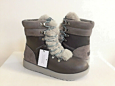 a74a178f4cb UGG AUSTRALIA VIKI WATERPROOF EXPOSED SHEARLING LACE UP Boot 1017493 ...