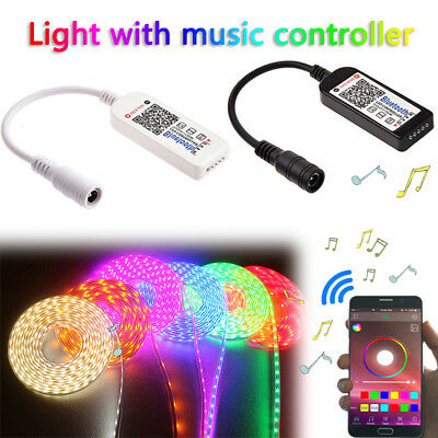 Bluetooth LED Controller Remote RGB RGBW For iOS Android APP Smart Phone