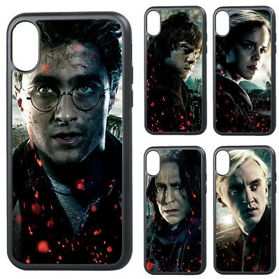 Harry Potter Ron Hermione Silicone Phone Case Cover for iPhone6 7 8 X XR XS Plus