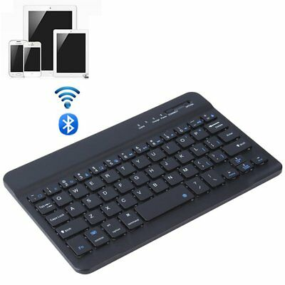 Wireless Kabellose Bluetooth Tastatur Slim PC Tablet Smartphone Handy Keyboard