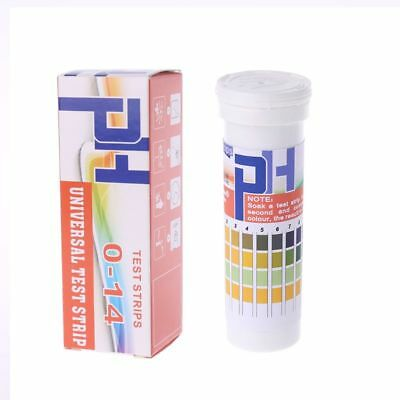 150 Strips Bottled PH Test Strip 0-14 pH Acidic Alkaline Indicator Urine Saliva