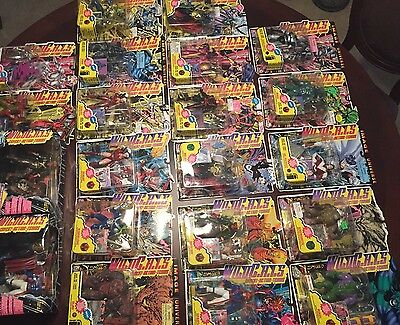 WILD CATS Comics Action Figure Collection New Sealed Lot Of 21