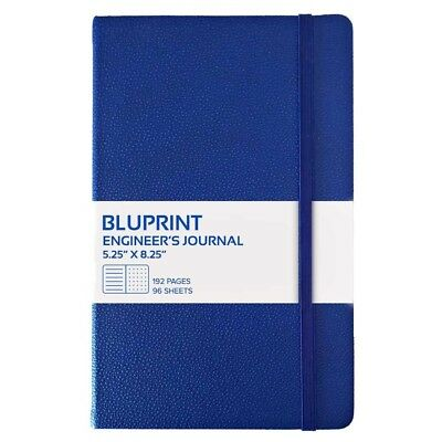 A5 Hardcover Engineer's Notebook Bullet Journal Ruled and Dots by Bluprint