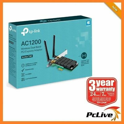 TP-Link Archer T4E 1200Mbps Dual Band Wireless PCI Express Adapter WIFI AC1200