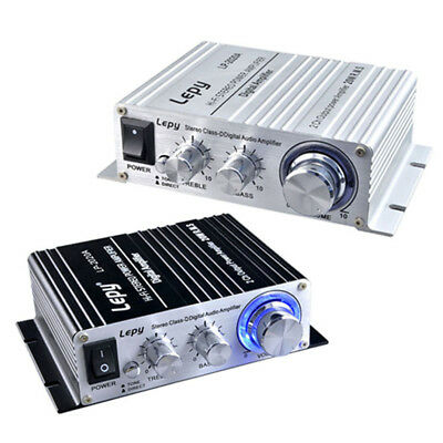 Lepy LP-2020A DC 12-13.5V Hi-Fi Digital Stereo Audio Small Power Amplifier 3A AU