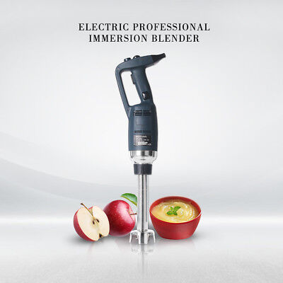 Commercial Variable Speed Handheld Immersion Blender Food Processor SS Blade CE