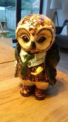 Cinque Ports Pottery Rye Country Gentlemen Owl