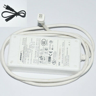 Geniune Bose-PSM36W-201 Power Supply18V 4 Prong for SoundDock 1-White
