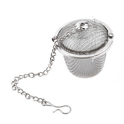 Tea Ball Infuser Loose Leaf Spice Strainer Filter Stainless Steel Infusers YI