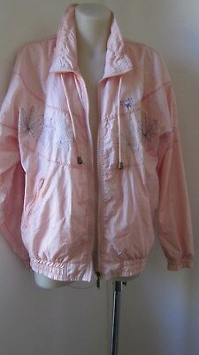 """1980,s orig and vint  2 pce pink 'shell""""suit from Real Sports """"Renee""""range.Size"""