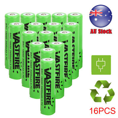 GENUINE 3.7v 18650 Lithium Li-Ion Rechargeable Battery AU Plug Battery Charger B