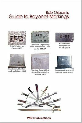 A GUIDE TO BAYONET MARKINGS -  electronic book on CD