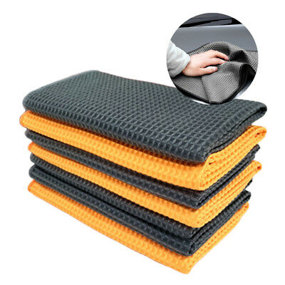 1x New Strong Water Absorption Wiping towel For Car Cleaning Wax Polishing Cloth