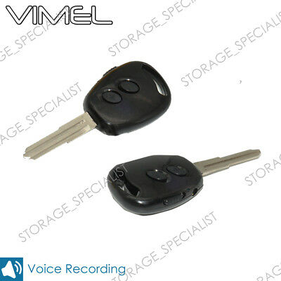 Voice Recorder Car Key Ring Remote Vimel Tiny Listening Device