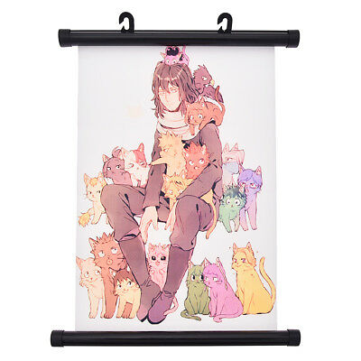 Anime My Boku no Hero Academia Poster Picture Scroll Hook Students Room Decor