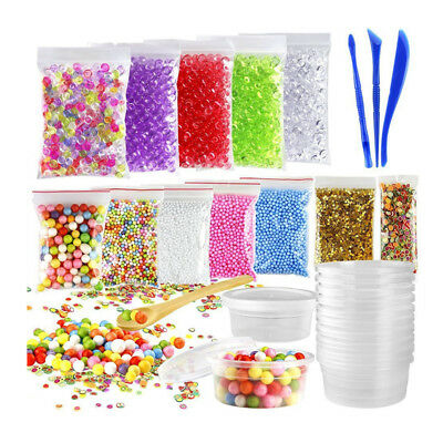 1X(15 Pack Including Fishbowl Beads, Foam Balls, Foam Ball Storage Containe R8Q3