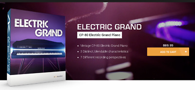 XLN ELECTRIC GRAND CP-80 Piano | Genuine Download License | Register w/ XLN