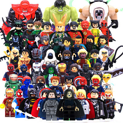 Lego Minifigures Avengers Marvel Dc Comics Super-Heroes (Set To Choose)