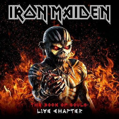 Iron Maiden - The Book Of Souls:Live Chapter (2017) CD NEU OVP