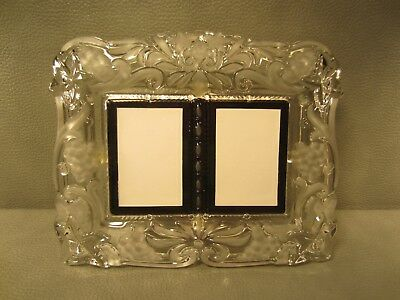Mikasa Monarch Cathedral Crystal Photo Frame For 4 14 X 6 Photo 9 1