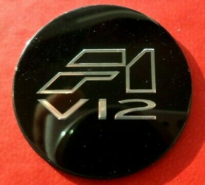 McLaren F1 V12 Badge, Very Rare and Collectable.
