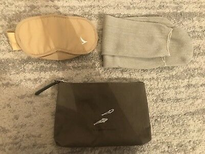 New Cathay Pacific Amenity bag  Designed By Zixag- bag with eye mask and socks