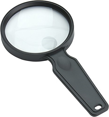 Carson MagniView 2x Power Compact and Lightweight Hand-Held Magnifier with 4.5x