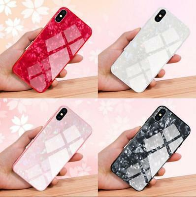 Luxury Marble Tempered Glass Case Cover For Apple iPhone X XS XR Max 8 7 6s 6