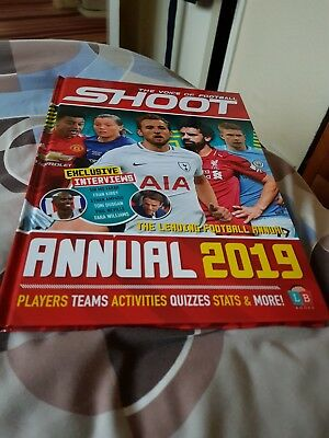 Shoot official new 2019 football anuual